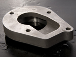 Flange by casting
